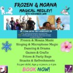 Frozen and Moana Magical Medley