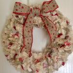 Christmas Rag Wreath - Family craft class