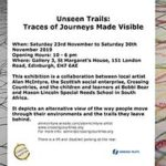Unseen Trails: Traces of Journeys Made Visible
