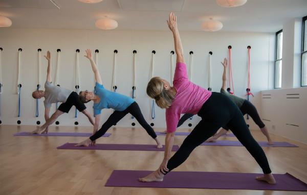 Level 1 yoga class