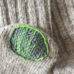 Visible Mending for Knitwear