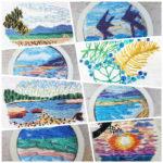 Miniature Landscape Embroidery Class