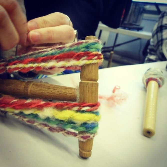 Learn to Spin Wool