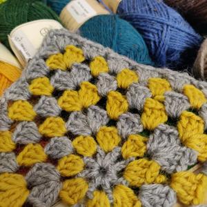 Crochet Granny Squre Online (Beginners Welcome)
