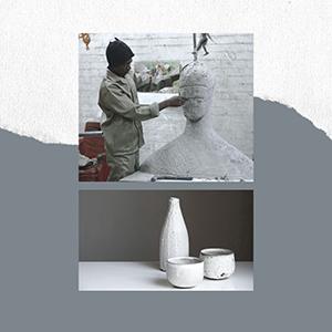 Sculptures, Ceramics and Glass Work Pop-Up Exhibition