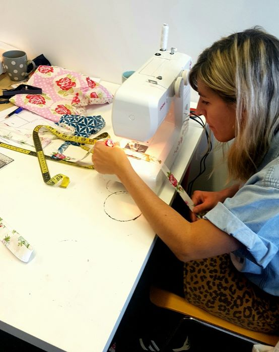 Upcycling and mending  Dressmaking Course