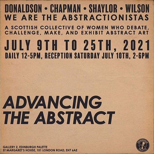 'Advancing the Abstract' debut exhibition by Abstractionistas Collective