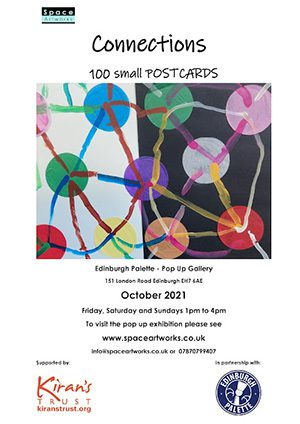 Connections - 100 Small Postcards